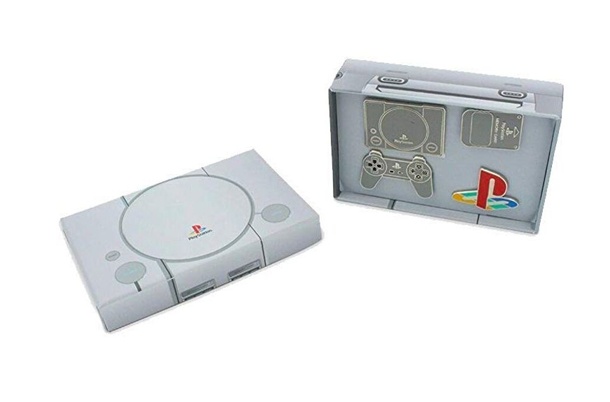 Collection Jeux Vidéo : Le pack de Pin's officiels Playstation de Sony disponible !